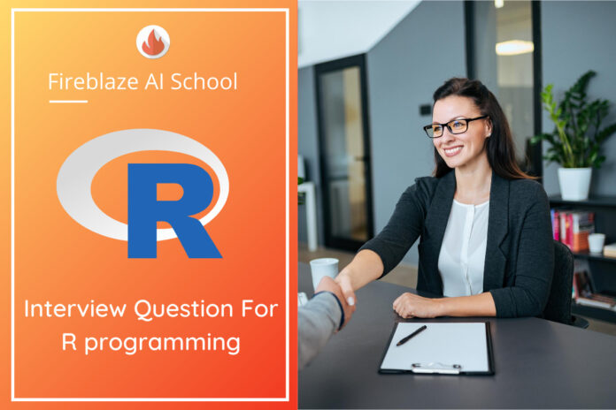 Interview Question For R programming