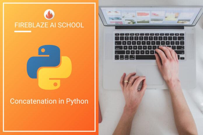Concatenation in Python
